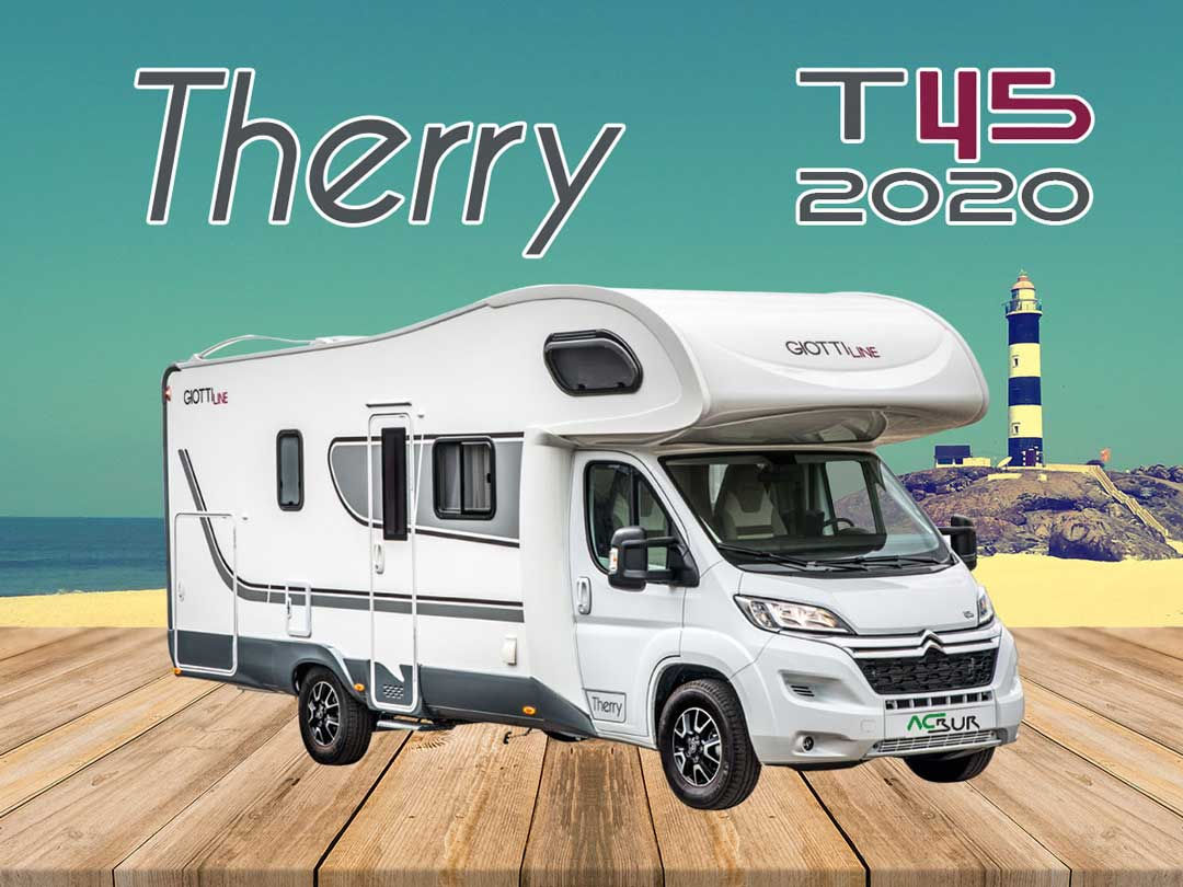 Autocaravana GiottiLine Therry T45 2020 mosaico