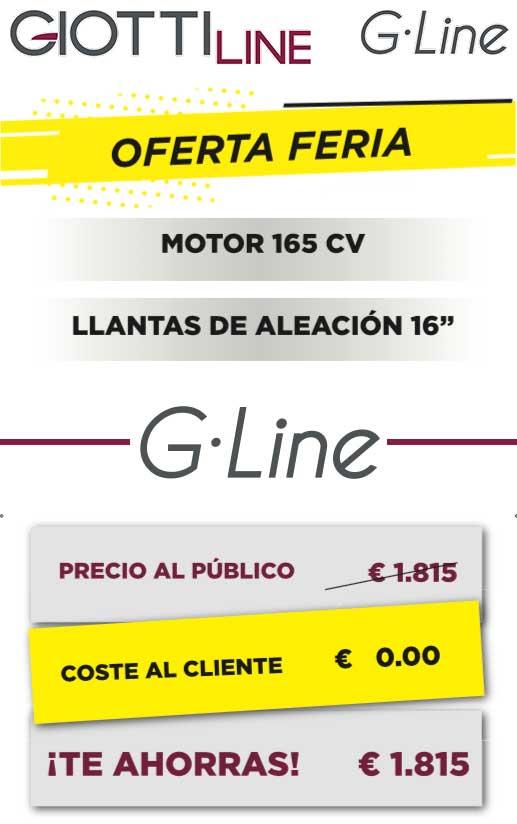 Salón Caravaning Barcelona 2019 oferta GLine