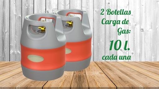 Kit GLP Autocaravanas A2 10 litros