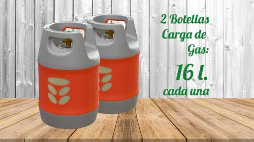Kit GLP Autocaravanas A2 16 litros