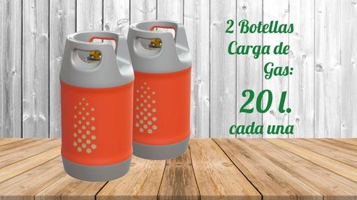 Kit GLP Autocaravanas A2 20 litros
