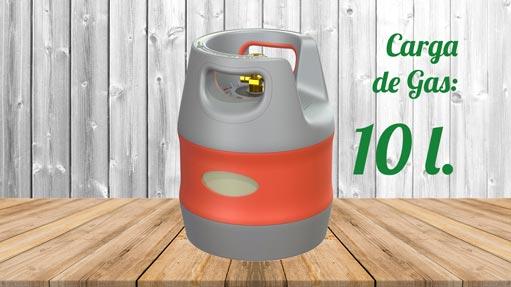 Kit GLP Autocaravanas A1 Botella composite 10 litros