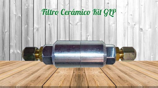 Kit GLP Autocaravanas Filtro Cerámico