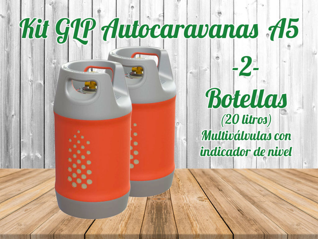 Kit GLP Autocaravanas A5 Mosaico