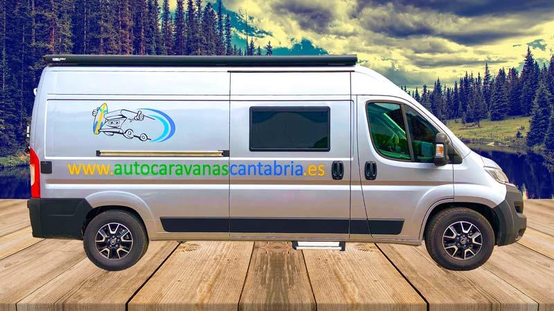 Alquilar Camper en Cantabria desde Burgos lateral