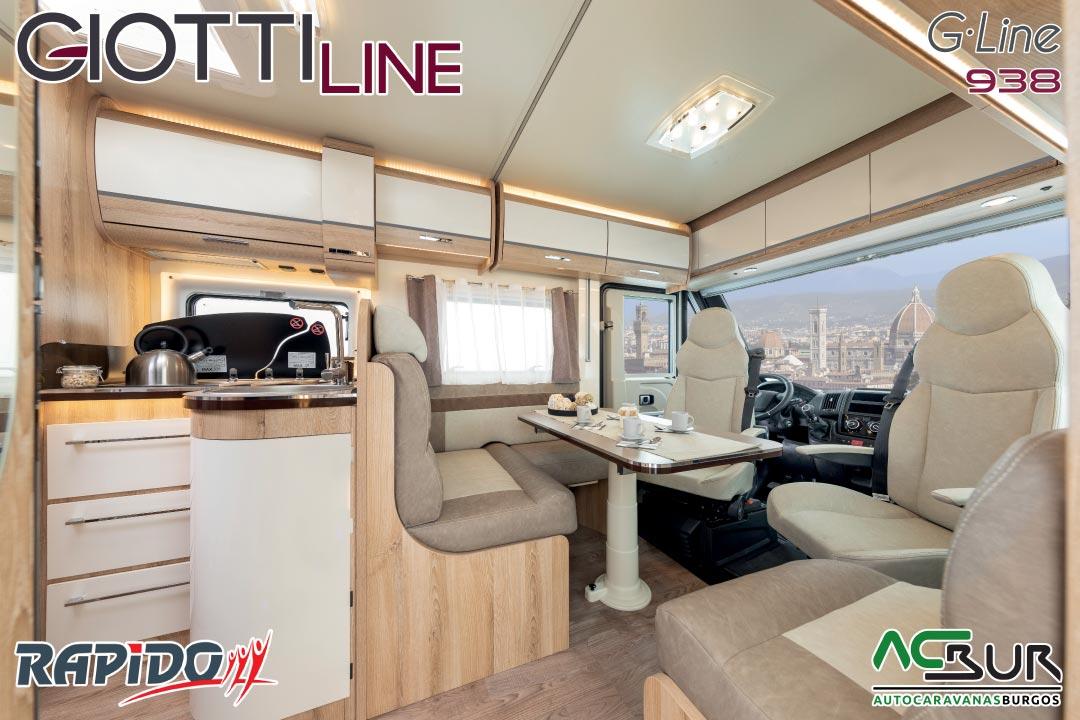 GiottiLine GLine 938 2021 interior