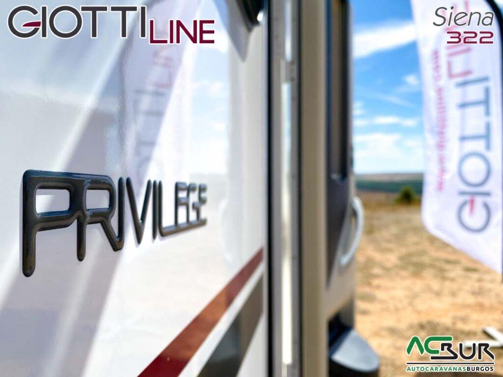 GiottiLine Siena 322 2021 privilege