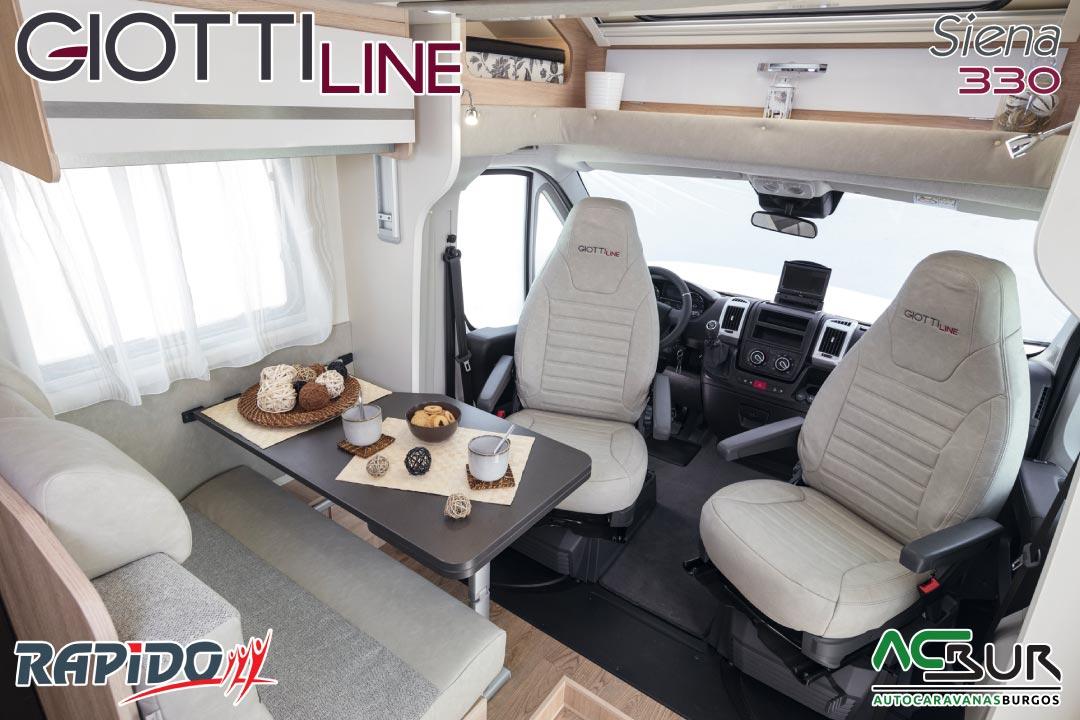 GiottiLine Siena 330 2021 comedor