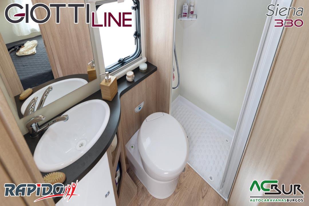 GiottiLine Siena 330 2021 baño