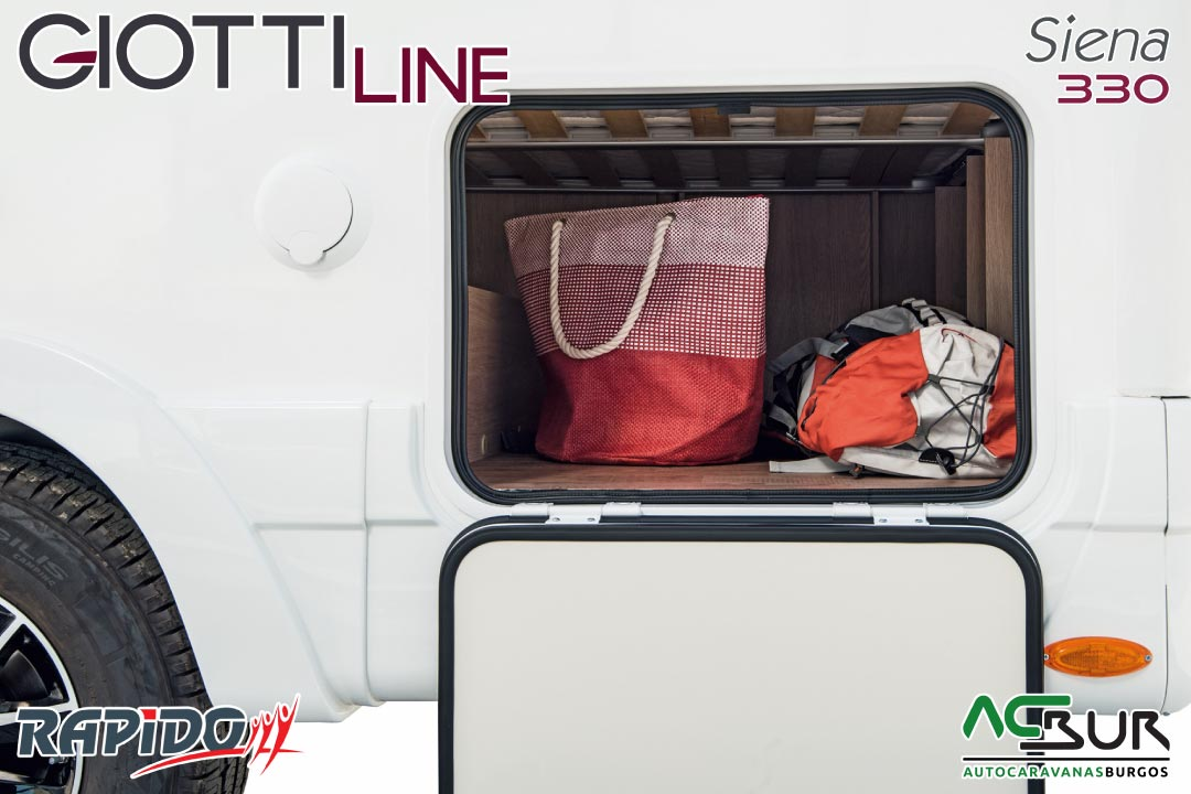 GiottiLine Siena 330 2021 garaje
