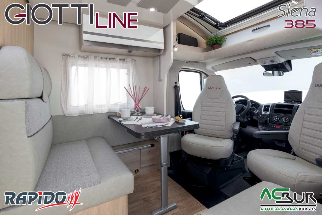 GiottiLine Siena 385 2021 comedor