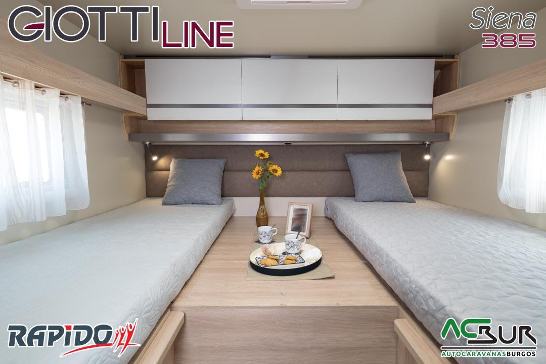 GiottiLine Siena 385 2021 dormitorio