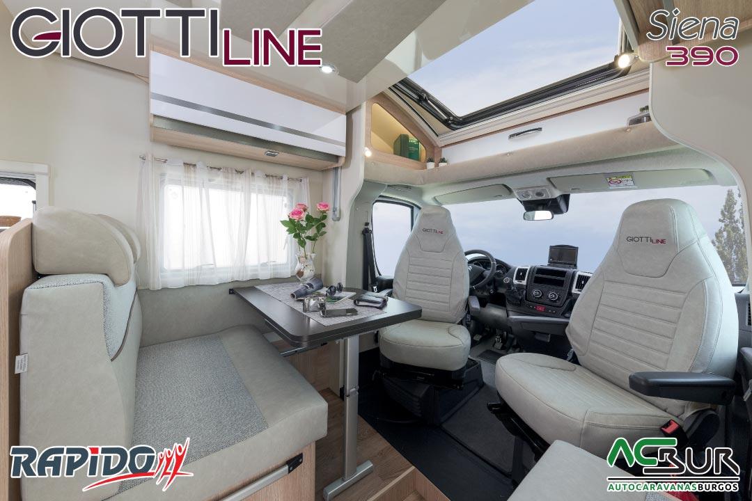GiottiLine Siena 390 2021 comedor