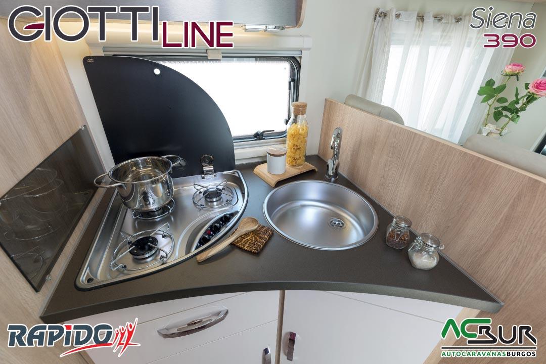 GiottiLine Siena 390 2021 cocina