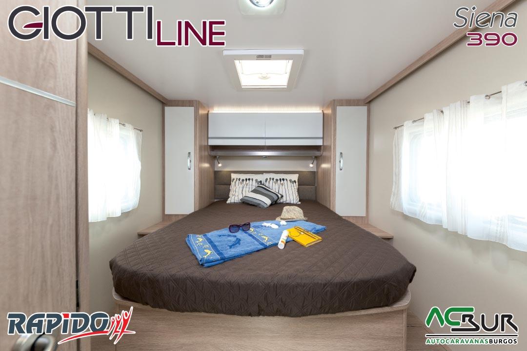 GiottiLine Siena 390 2021 dormitorio