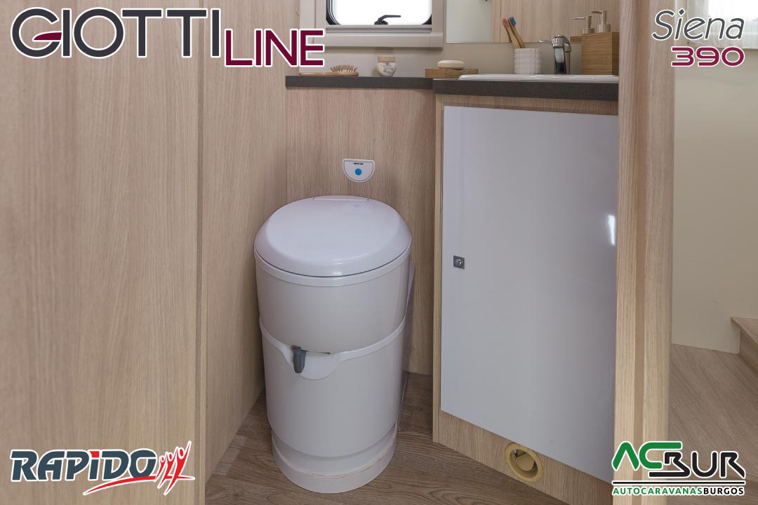 GiottiLine Siena 390 2021 baño
