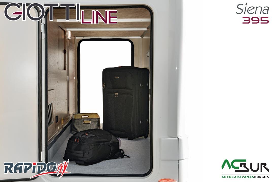 GiottiLine Siena 395 2021 garaje