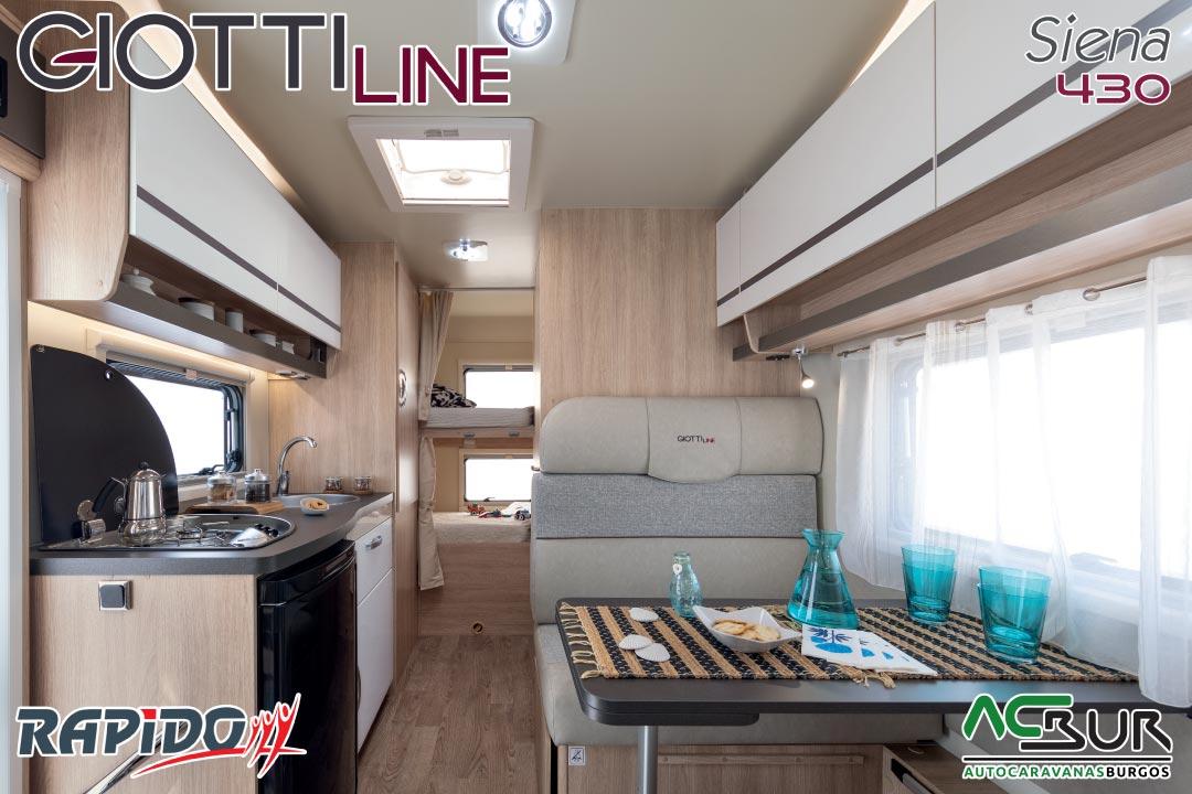 Autocaravana GiottiLine Siena 430 2021 interior