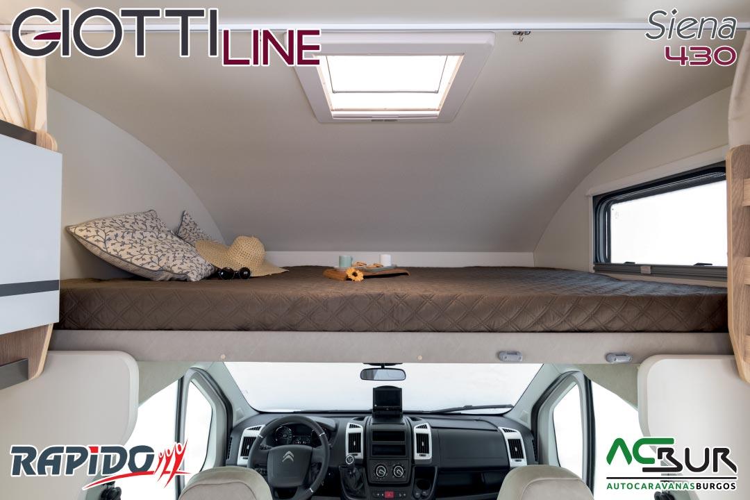 Autocaravana GiottiLine Siena 430 2021 cama capuchina