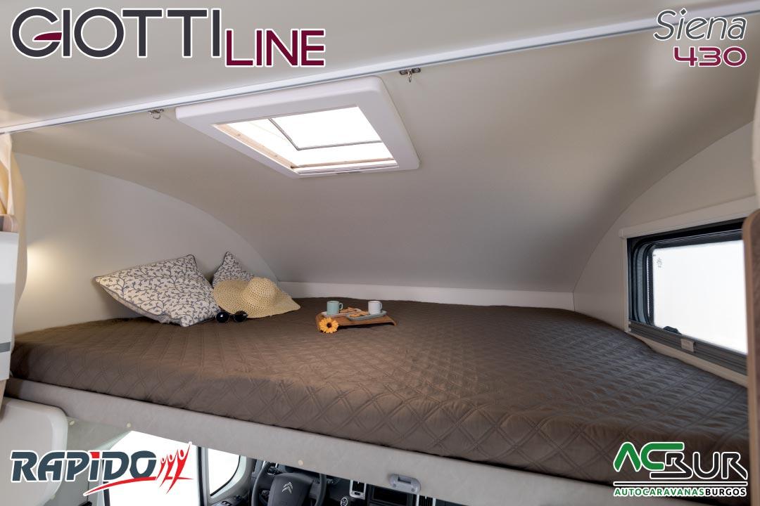 Autocaravana GiottiLine Siena 430 2021 cama delantera