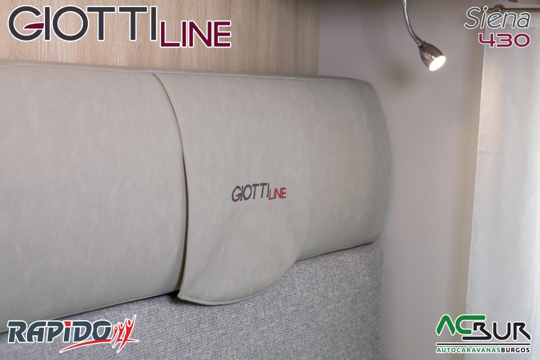 Autocaravana GiottiLine Siena 430 2021 tapicería