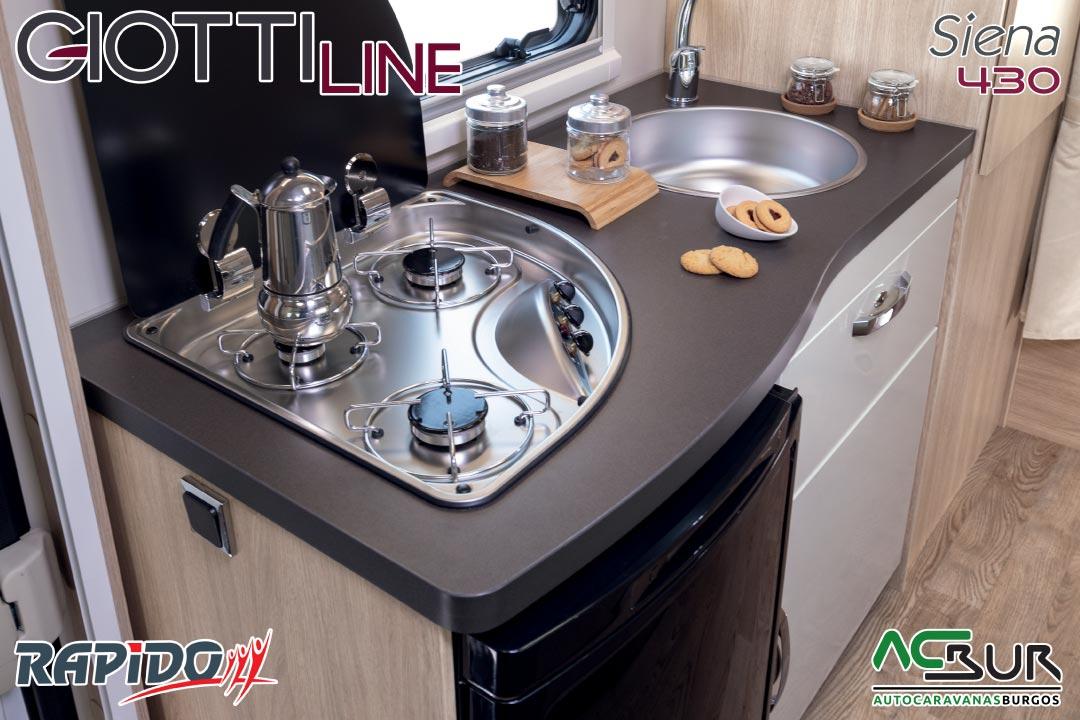 Autocaravana GiottiLine Siena 430 2021 cocina