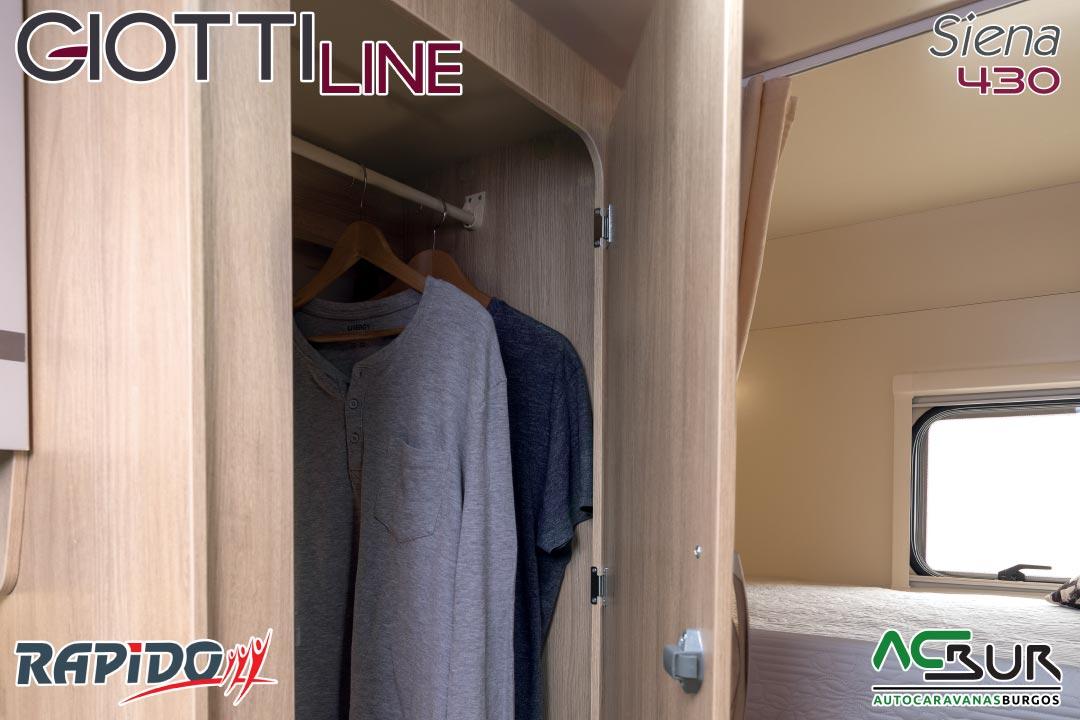 Autocaravana GiottiLine Siena 430 2021 armarios ropa