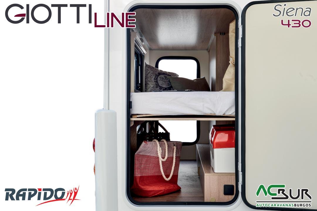Autocaravana GiottiLine Siena 430 2021 garaje