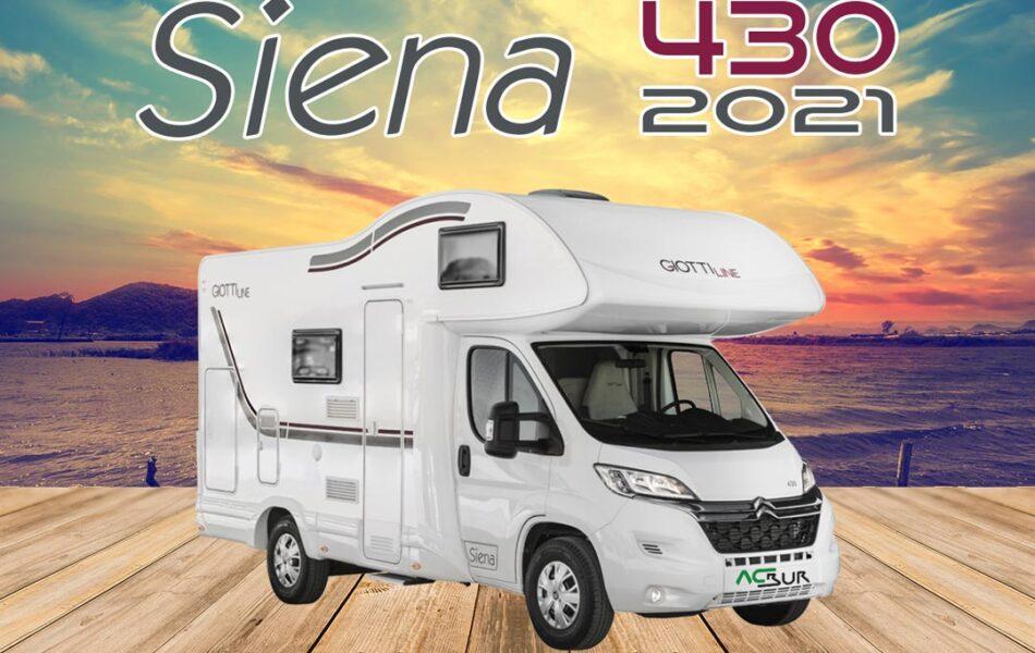 Autocaravana GiottiLine Siena 430 2021 mosaico