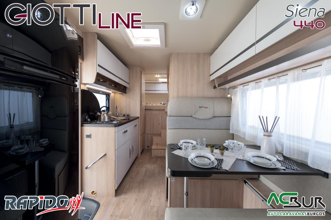 GiottiLine Siena 440 2021 interior
