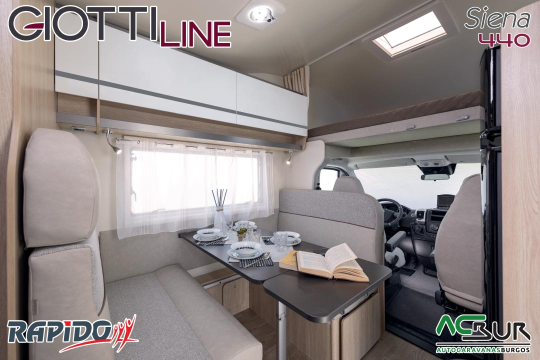 GiottiLine Siena 440 2021 comedor