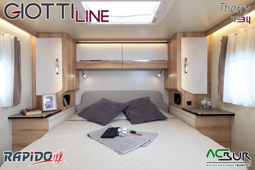 GiottiLine Therry T34 2021 dormitorio