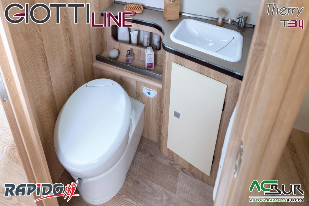 GiottiLine Therry T34 2021 baño
