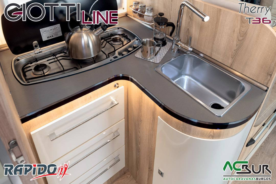 GiottiLine Therry T36 2021 cocina