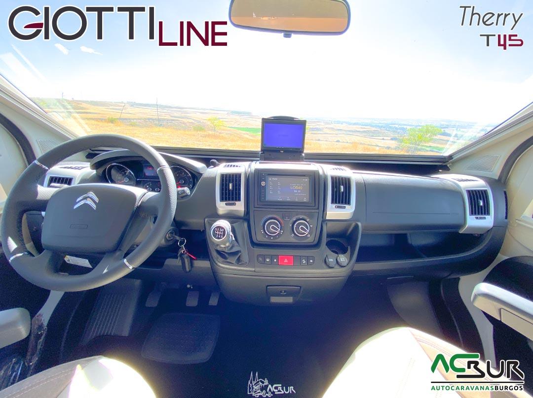 GiottiLine Therry T45 2021 salpicadero