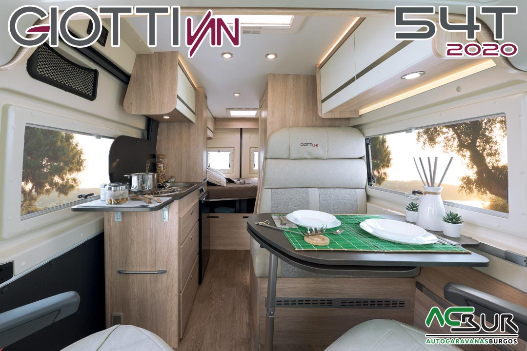 GiottiVan 54T 2020 interior