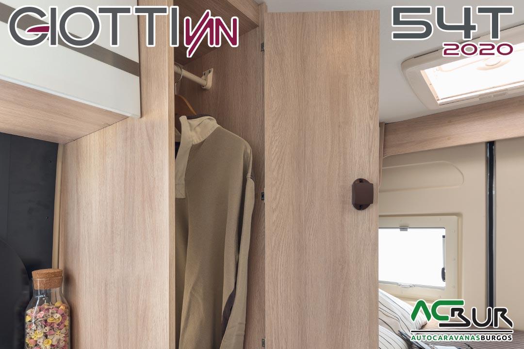GiottiVan 54T 2020 armario