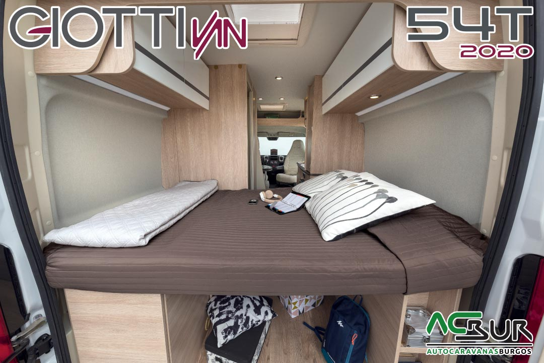GiottiVan 54T 2020 cama