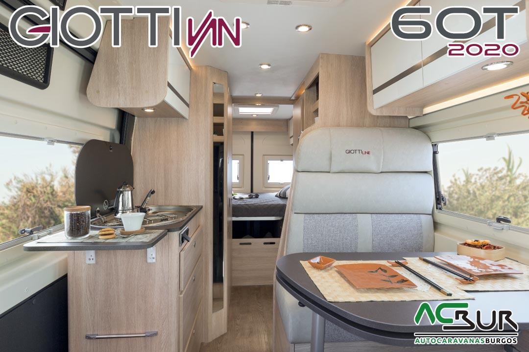 GiottiVan 60T 2020 interior
