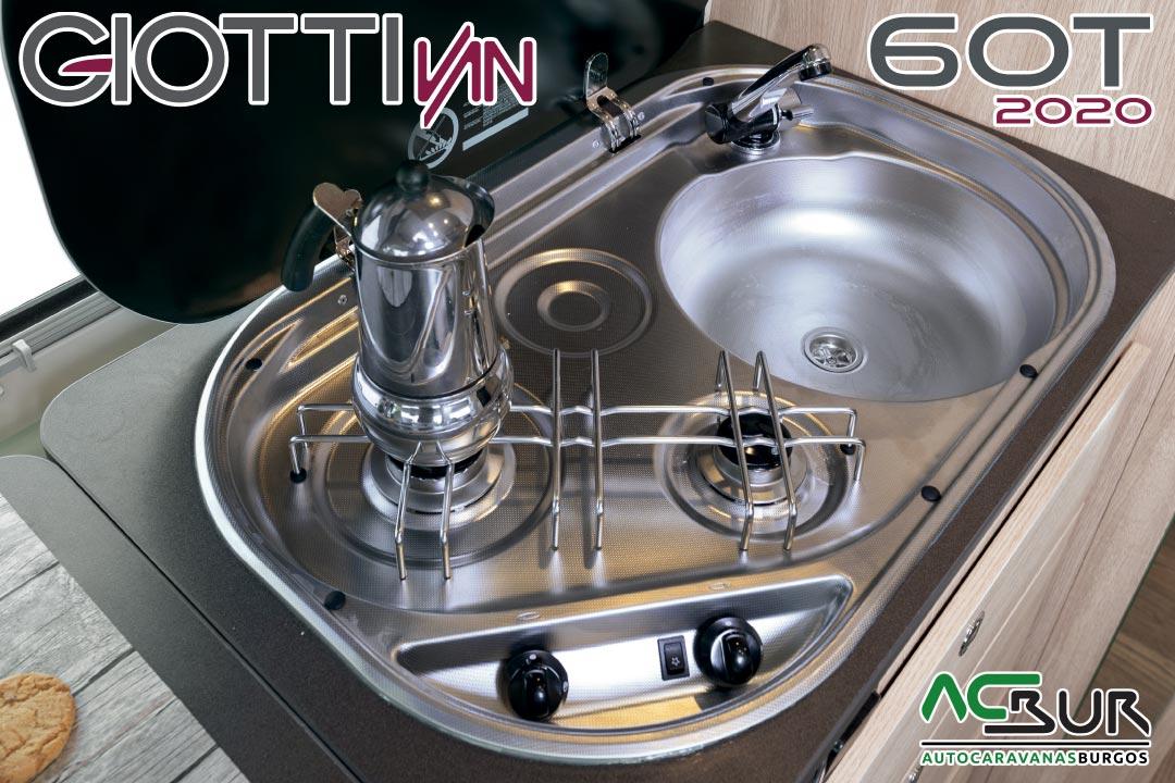GiottiVan 60T 2020 fogones