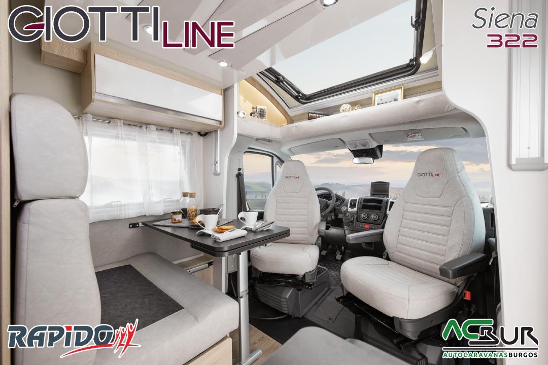 GiottiLine Siena 322 2022 comedor