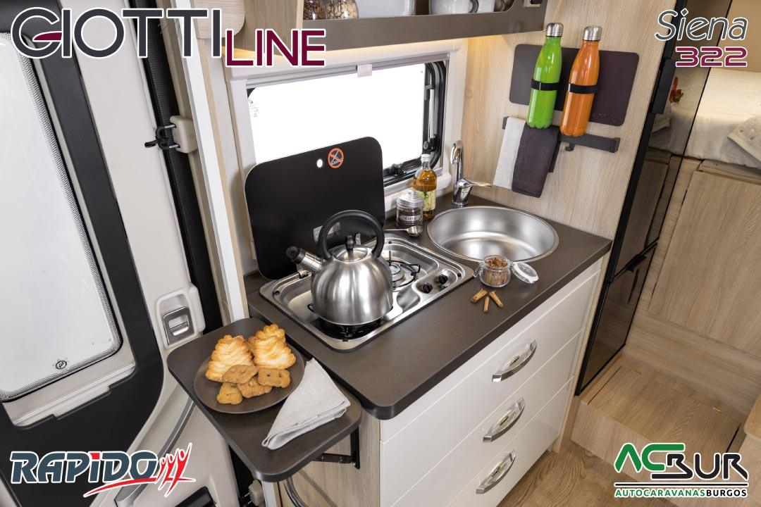 GiottiLine Siena 322 2022 cocina