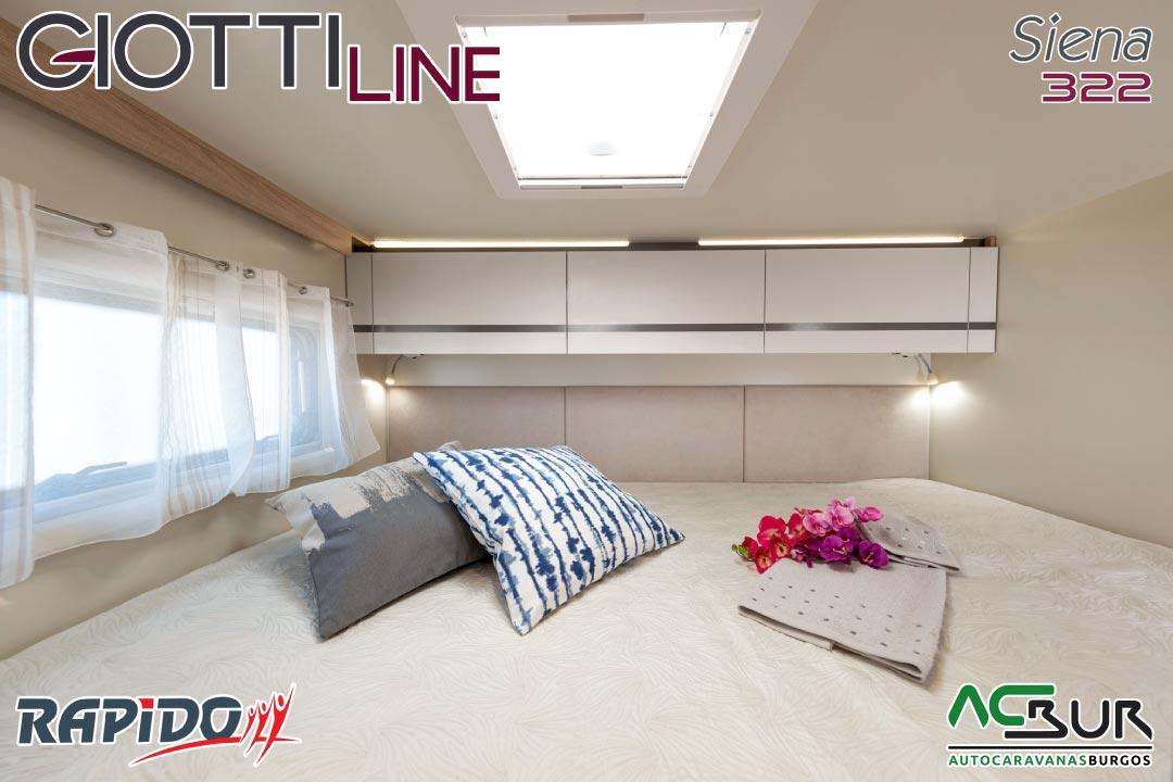 GiottiLine Siena 322 2022 dormitorio