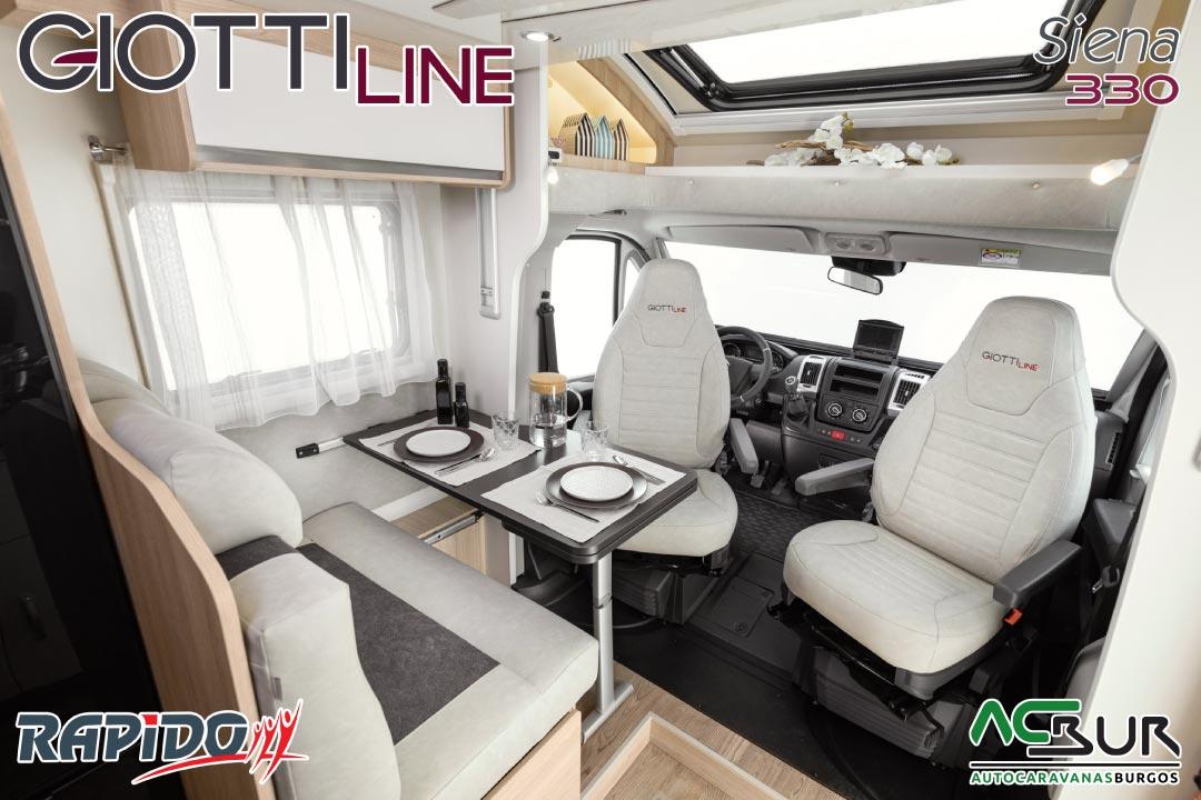 GiottiLine Siena 330 2022 comedor