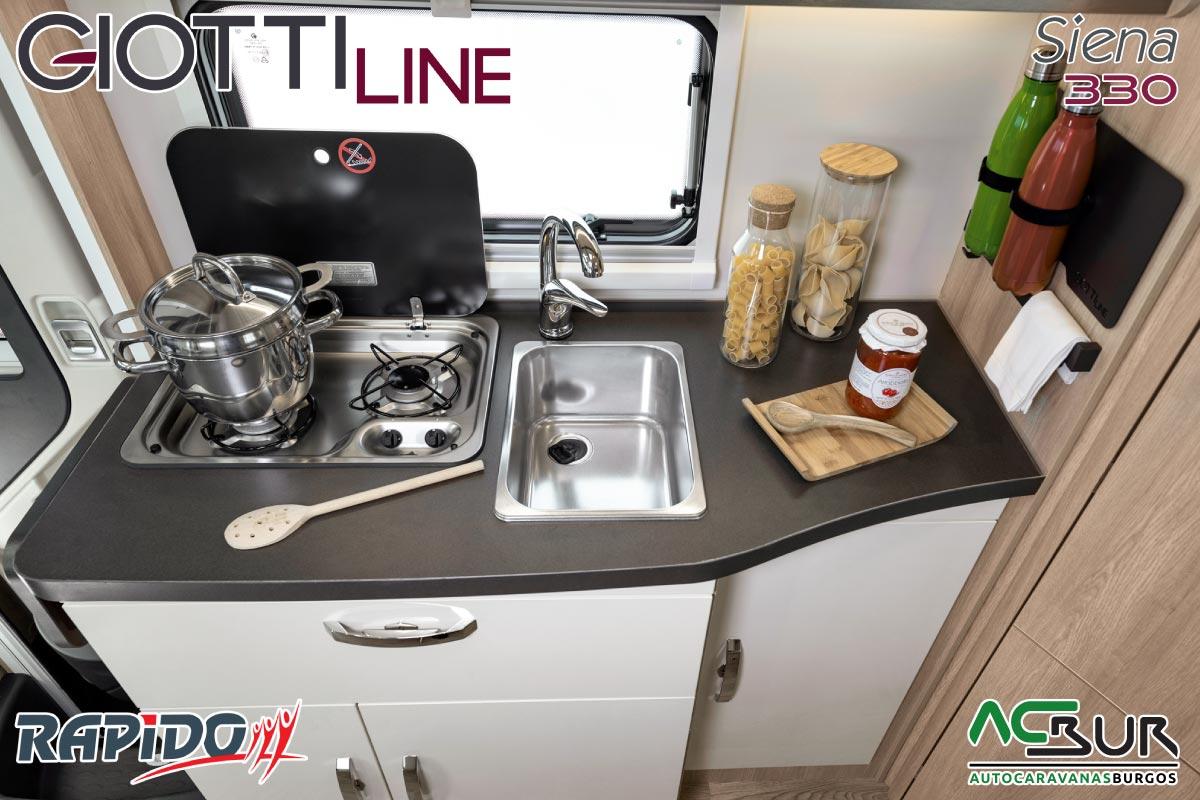 GiottiLine Siena 330 2022 cocina