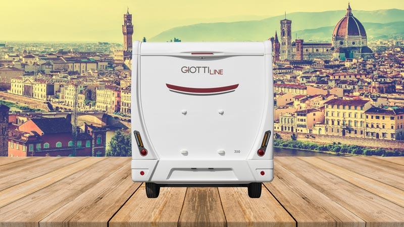 GiottiLine Siena 350 2022 trasera