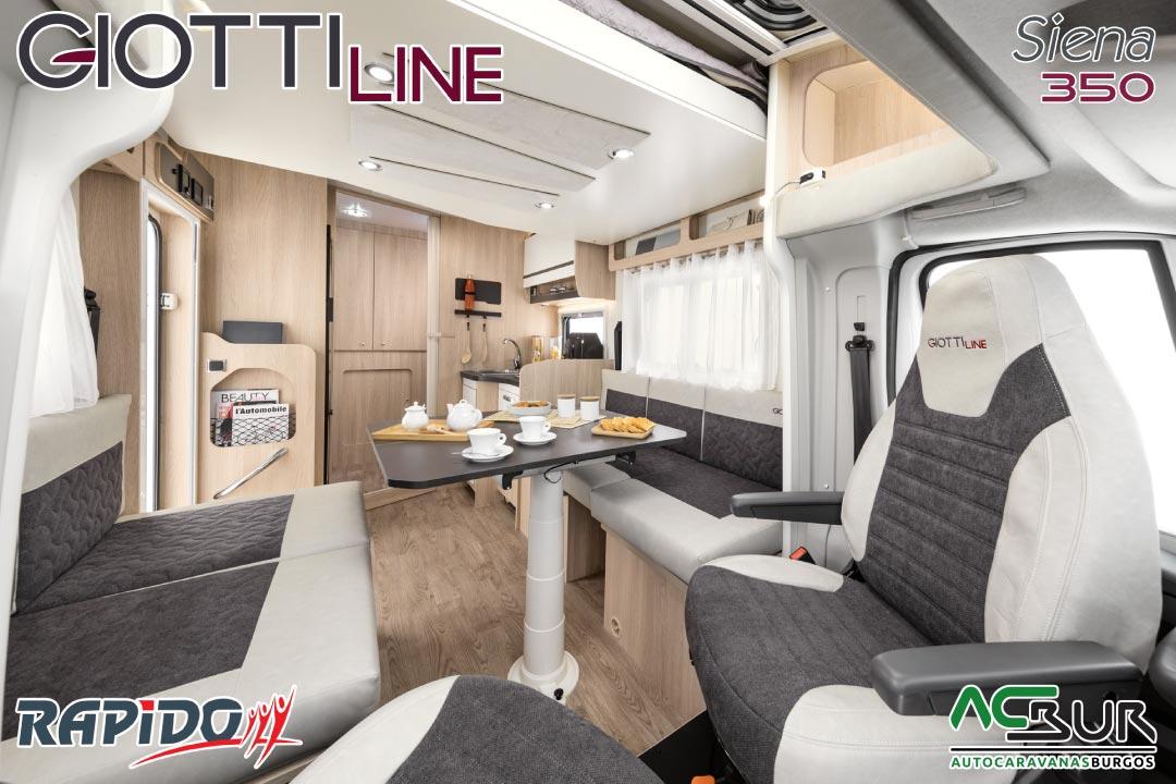 GiottiLine Siena 350 2022 interior