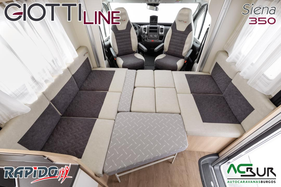 GiottiLine Siena 350 2022 comedor