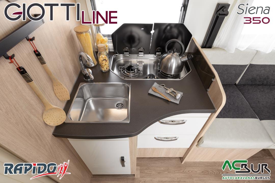 GiottiLine Siena 350 2022 cocina