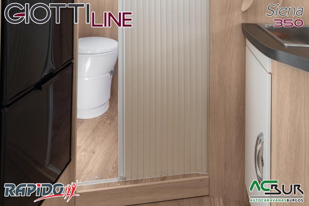 GiottiLine Siena 350 2022 baño